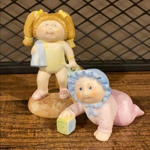 Cabbage Patch Kids Toddler and Baby Set 80's